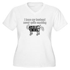 BBQ husband smoki T-Shirt