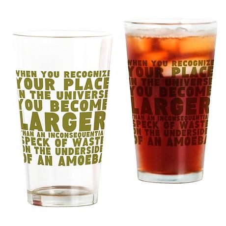 Under the Amoeba Drinking Glass