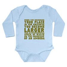 Under the Amoeba Long Sleeve Infant Bodysuit