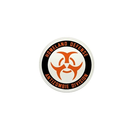 Anti Zombie Division Mini Button