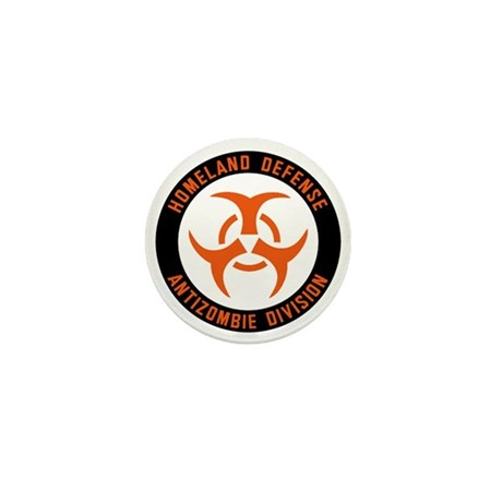 Anti Zombie Division Mini Button (10 pack)