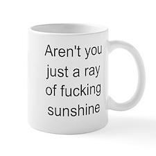 ray of sunshine Small Mugs