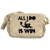 All I do is Win Waterpolo Messenger Bag