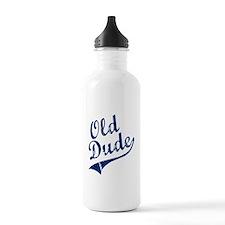 OLD DUDE (Script) Water Bottle