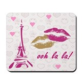 OOH LA LA PARIS Mousepad