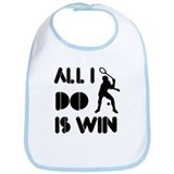 All I do is Win Racquetball Bib