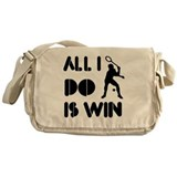 All I do is Win Racquetball Messenger Bag