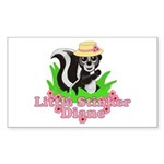 Little Stinker Diane Sticker (Rectangle 10 pk)