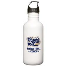 Basketball Coach Gift Water Bottle