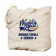 Basketball Coach Gift Tote Bag