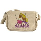 I Dream Of Ponies Alana Messenger Bag