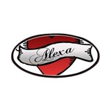 Alexa Heart tattoo Patches