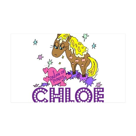 I Dream Of Ponies Chloe 38.5 x 24.5 Wall Peel