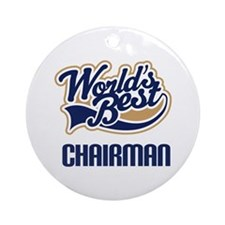 Chairman Gift Ornament (Round)