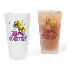 I Dream Of Ponies Courtney Drinking Glass