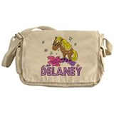 I Dream Of Ponies Delaney Messenger Bag