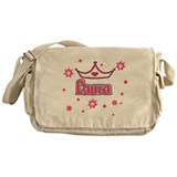 Laura Princess Crown w/Stars Messenger Bag