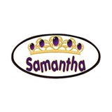 Princess Tiara Samantha Perso Patches