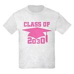 2030 Pink Future School Class Kids Light T-Shirt