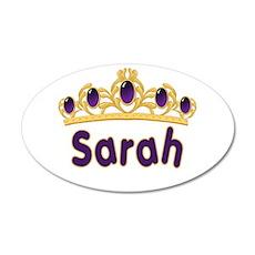 Princess Tiara Sarah Personal 38.5 x 24.5 Oval Wal
