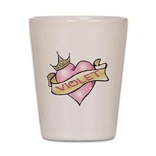 Sweetheart Violet Custom Prin Shot Glass