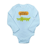 Class of 2030 Alligator Long Sleeve Infant Bodysui