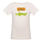 Class of 2030 Alligator Organic Baby T-Shirt