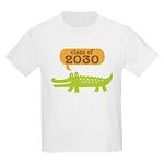 Class of 2030 Alligator Kids Light T-Shirt