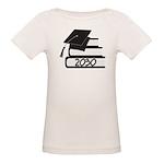 Class of 2030 Grad Book Design Organic Baby T-Shir