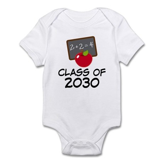 School Class of 2030 Apple Infant Bodysuit