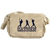 Baseball Cayden Personalized Messenger Bag