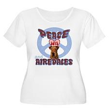 Cute Airedale terrier lover T-Shirt