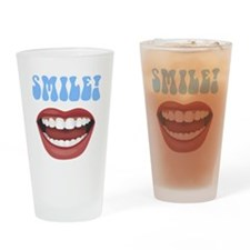 Healthy Smile Drinking Glass