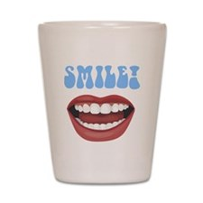 Healthy Smile Shot Glass