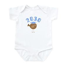 Class Of 2030 Blue Bird Infant Bodysuit