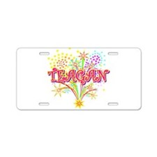 Sparkle Teagan Personalized Aluminum License Plate