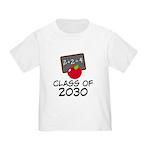 School Class of 2030 Apple Toddler T-Shirt