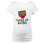 School Class of 2030 Apple Maternity T-Shirt