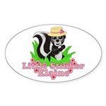 Little Stinker Elaine Sticker (Oval 10 pk)