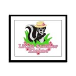 Little Stinker Elaine Framed Panel Print