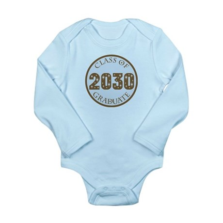 Blue Stars Class of 2030 Long Sleeve Infant Bodysu