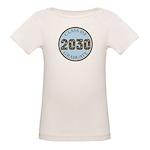 Blue Stars Class of 2030 Organic Baby T-Shirt