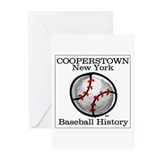 Cooperstown NY Baseball shopp Greeting Cards (Pack