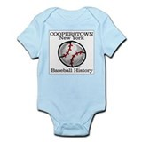 Cooperstown NY Baseball shopp Infant Creeper
