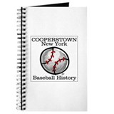 Cooperstown NY Baseball shopp Journal