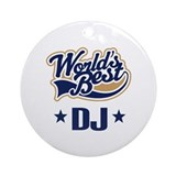 Dj Gift Ornament (Round)