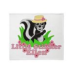 Little Stinker Ellen Throw Blanket