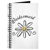 Bridesmaid Daisy Journal