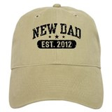 New Dad Est. 2012  Baseball Cap