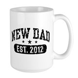 New Dad Est. 2012 Mug
